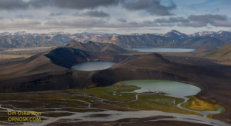 Blautaver, Ljótipollur og Frostastaðavatn