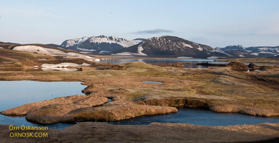 Tjaldvatn og Skálavatn
